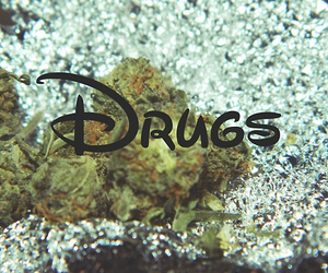drugs, disney, and weed image