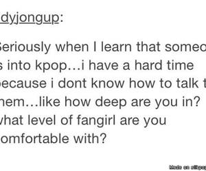 kpop, problems, and fangirl image