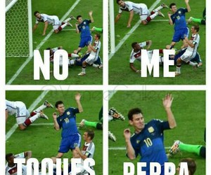 lionel messi and no me toques image