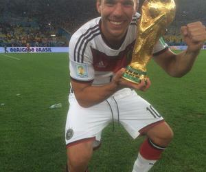 germany, world cup, and lukas podolski image