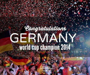 germany, champion, and congratulations image