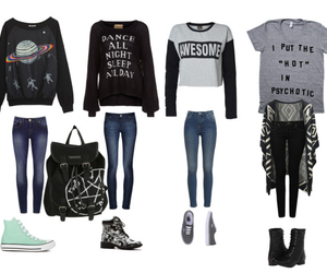 autum, clothes, and cute clothes image