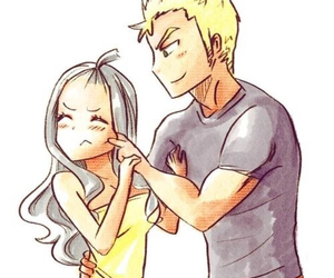 fairy tail, anime, and miraxus image