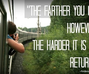 quote, travel, and true image