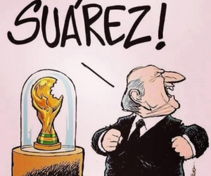 suarez, funny, and world cup image