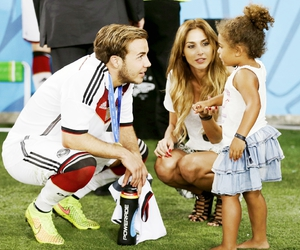 mario gotze, germany, and world cup image