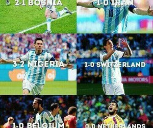 argentina, messi, and romero image