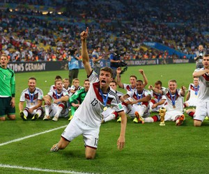 germany, thomas muller, and world cup image
