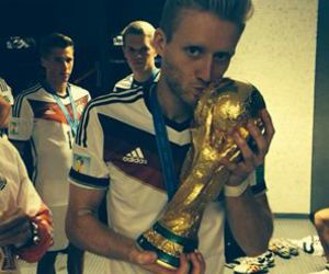 germany, andre schürrle, and world cup image