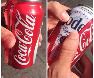 beer and coca cola image