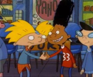 90's, hey arnold, and tv image