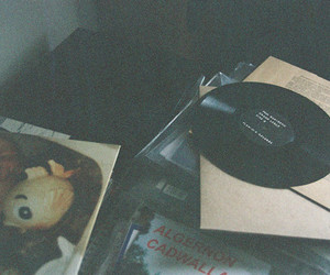 music, vinyl, and hipster image
