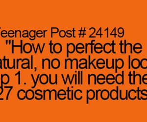makeup and qoutes image