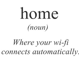 home, wifi, and quotes image