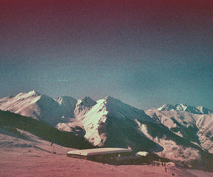 mountains, vintage, and nature image
