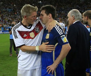 alemania, argentina, and messi image