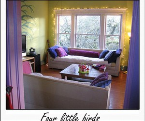 interior, livingroom, and purple image