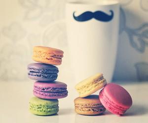 macaroons, mug, and macarons image