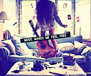 music, free, and guitar image