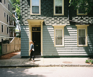 house, photography, and vintage image