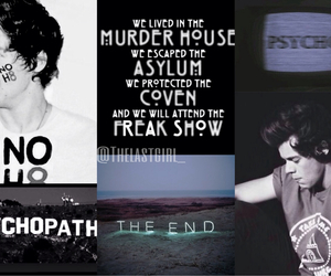 asylum, coven, and end image