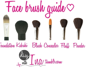 Brushes, face, and make up image