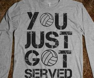 cool, fashion, and volleyball image