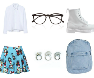 hipster, indie, and outfit image