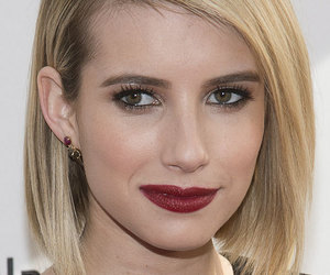 bob, emma roberts, and makeup image