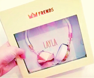 ♥, layla headphones, and frends collection image