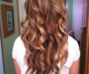 beautiful, blond, and curl image
