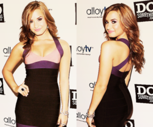 demi lovato and dress image
