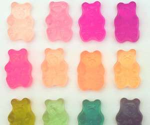 gummy bears, wishes, and yummy image