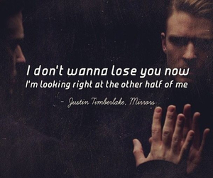 mirror, justin timberlake, and quotes image