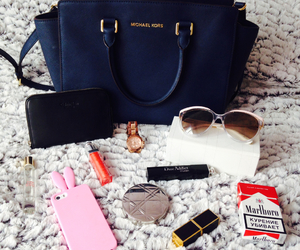 bag, Lipsticks, and shades image