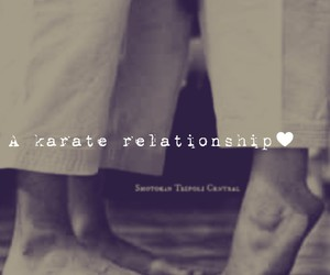love♥, realtionship, and karate♥ image