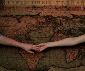 distance, hands, and love image