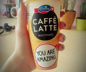 caffe, latte, and drink image