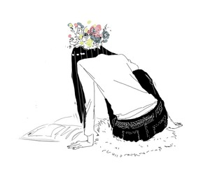 drawing, lol, and flower image