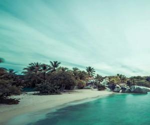 beach, fun, and ocean image