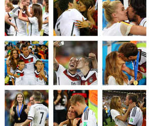 couple, germany, and world cup image