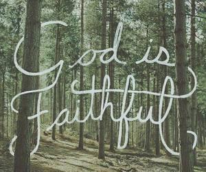 god, faith, and jesus image