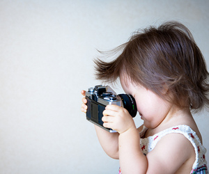 babies, canon, and girl image