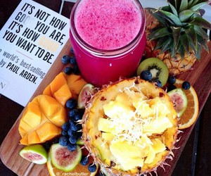 fruit, juice, and healthy food image