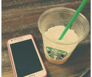 coffee, frappuccino, and I love it image