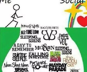 all time low, pierce the veil, and sleeping with sirens image