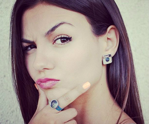 victoria justice, girl, and icon image