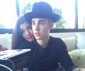 justin bieber, yovanna, and couple image