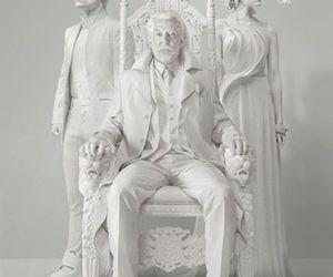 mockingjay, peeta, and president snow image