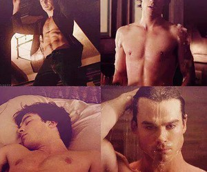 damon, Dracula, and handsome image